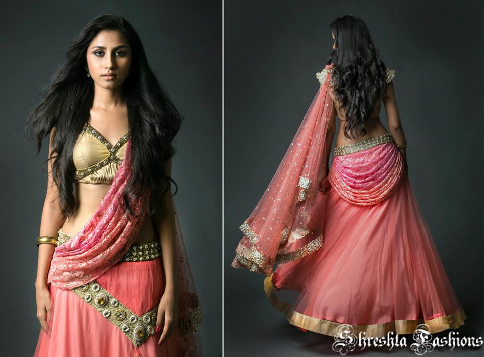 Beauty & Elegance: Designer Langavoni / Half Saree
