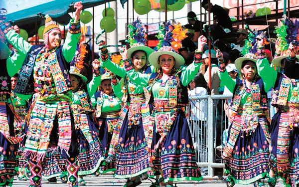 En vivo Entrada Folklórica Virgen de Urkupiña 2017