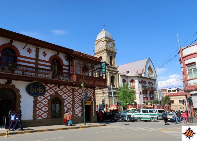 Oruro, nel centro