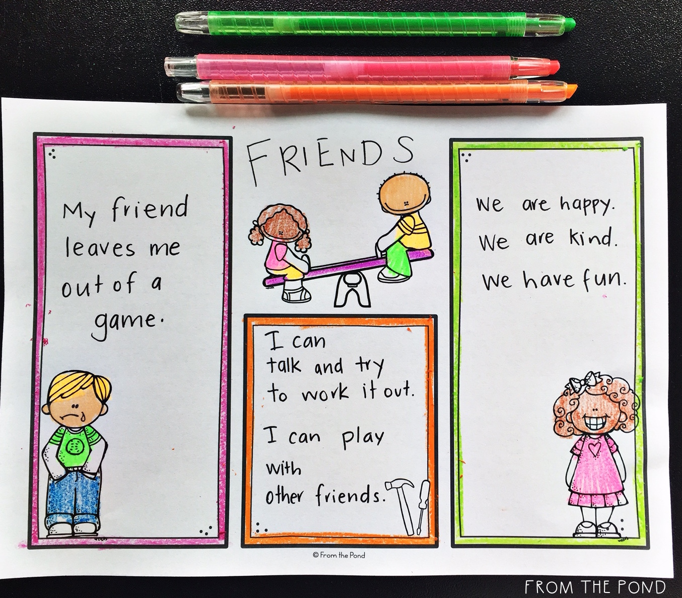 Friendship Lesson | From the Pond