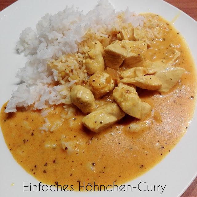 [Food] Einfaches Hähnchen-Curry
