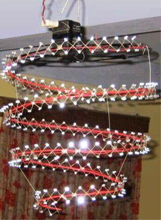 cara bikin lampu spiral putar