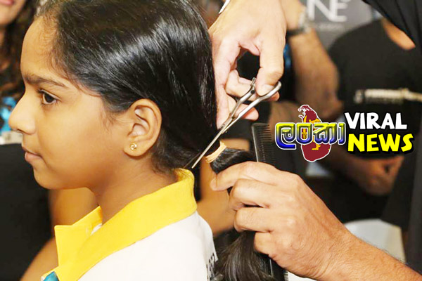 cut hair girl