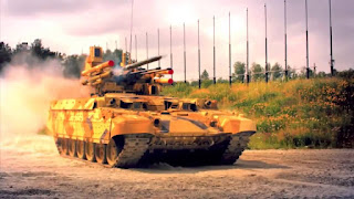 Algeria to buy 300 unit of Russian made BMPT-72 Terminator-2 Tank Support Combat Vehicle (TSCV)