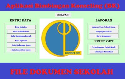 Aplikasi Database Bimbingan Konseling (BK) Jenjang Pendidikan