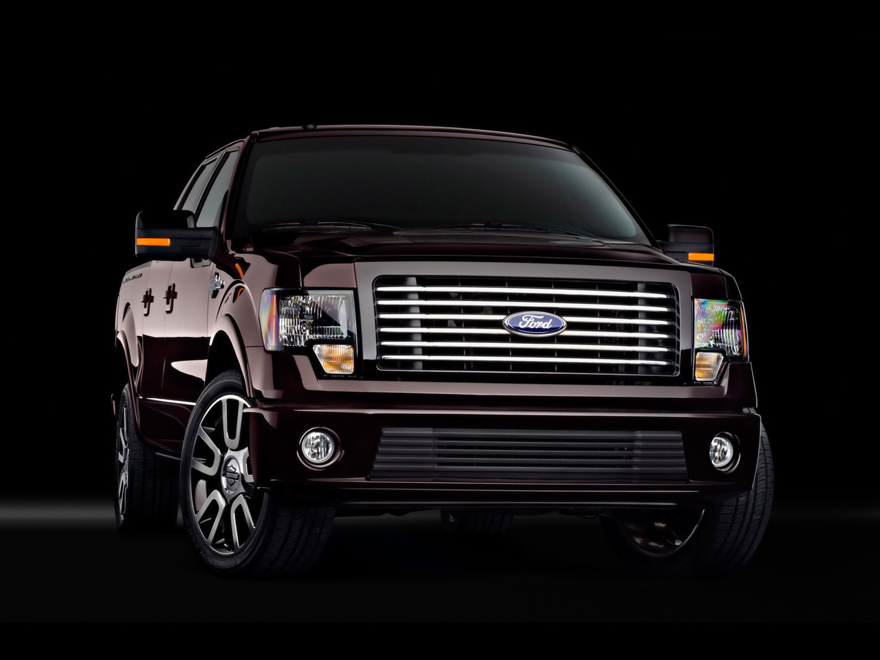 Auto Cars Ford F 150 Harley Davidson 2004