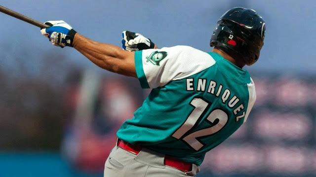 Michel Enríquez llegó hasta los 418, con promedio de uno cada 12,65 veces al bate, superior al del resto de los jugadores, incluso, los de Grandes Ligas