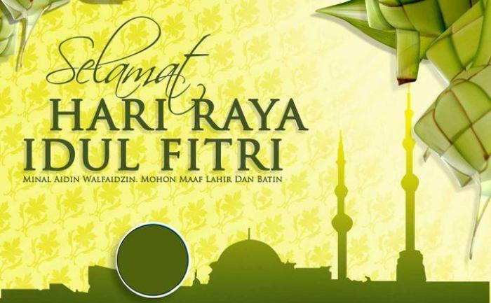 Kumpulan Gambar Ucapan Selamat Lebaran Idul Fitri - Idezia