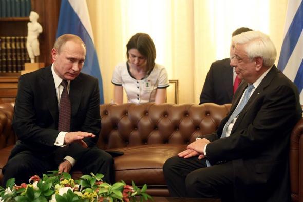 Πούτιν σε Παυλόπουλο: Σημαντικό να συζητήσουμε για όλες τις ευκαιρίες και να προχωρήσουμε σε βήματα υλοποίησης.... (βίντεο)