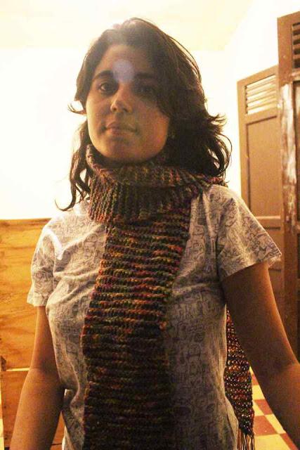 Bufandas a crochetFulares y tejidos KANGUTINGO