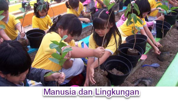 Hubungan Manusia dengan Lingkungan
