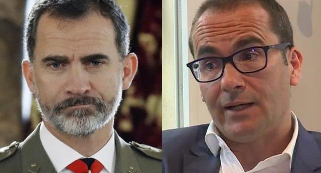 """""""Felipe VI estaría dispuesto a marcharse si lo decidiese una mayoría"""", asegura el periodista David Jiménez"""