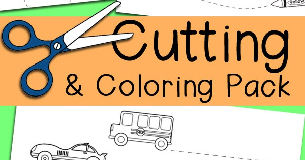 It is an image of Free Printable Cutting Activities for Preschoolers for october preschool