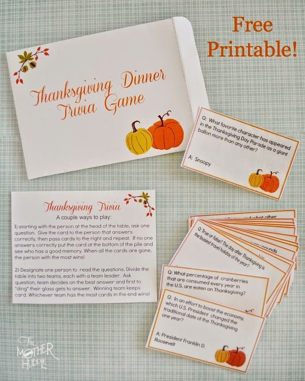 graphic regarding Thanksgiving Trivia Printable identify The Harris Sisters: Free of charge Thanksgiving Printables