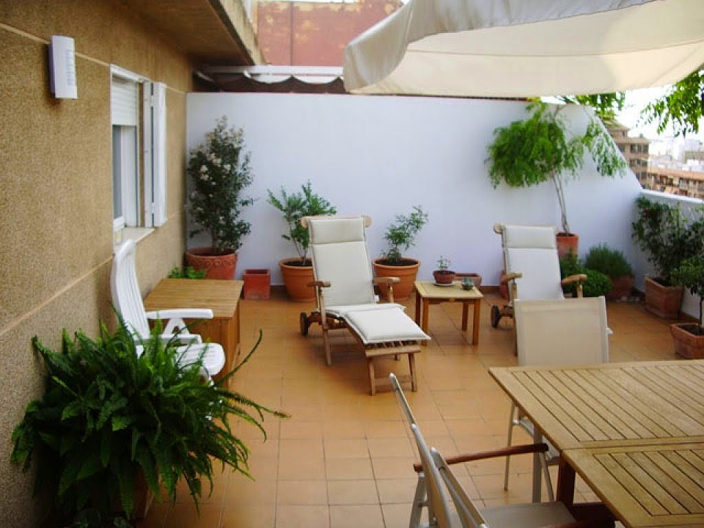 Consejos para decorar jardines en terrazas y balcones - Terrazas y jardines ...