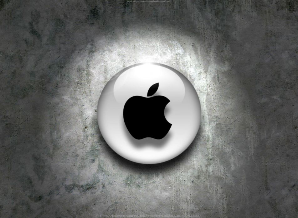 logo apple mac 3d