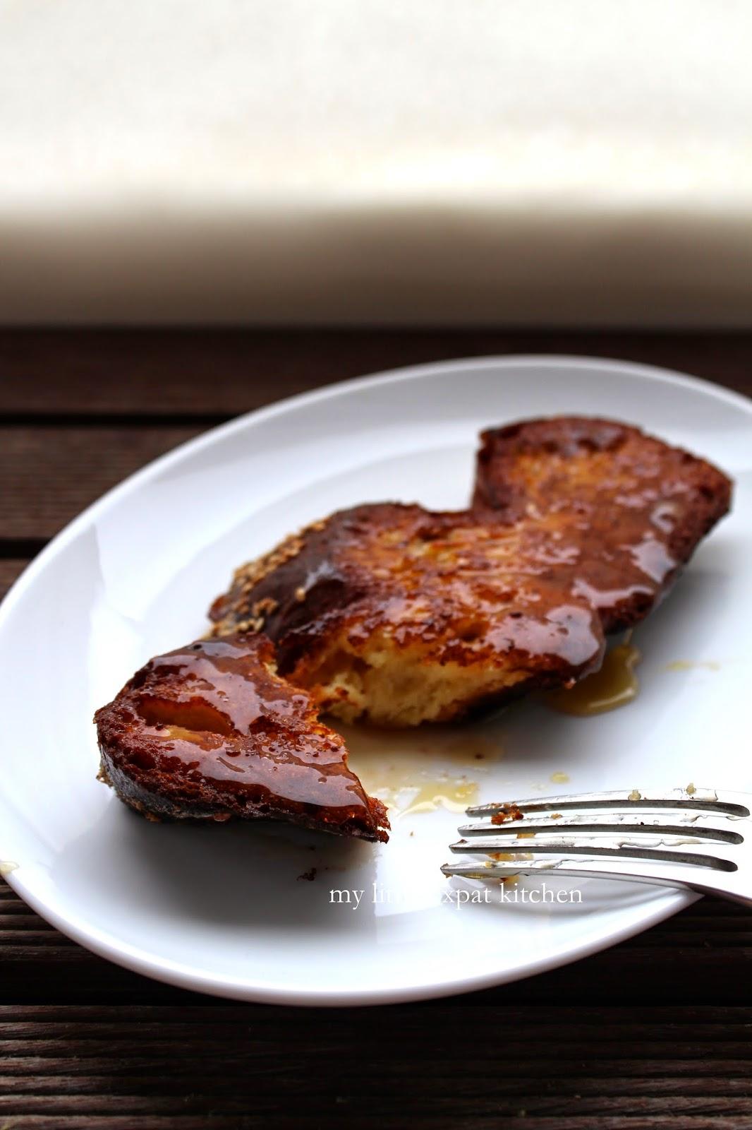 My Little Expat Kitchen: Tsoureki french toast x 2