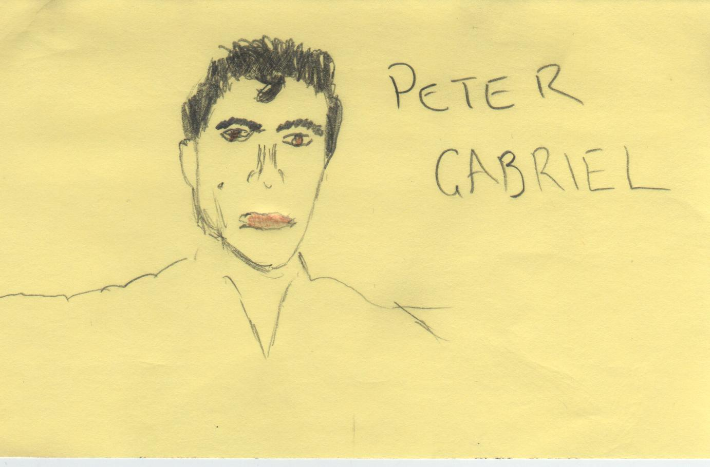 Bad Drawings Of Famous Musicians: March 2011