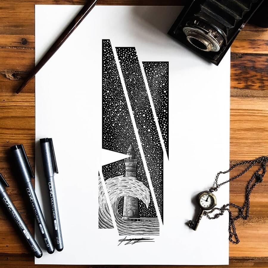 02-Fragmented-Lighthouse-artymoik-www-designstack-co