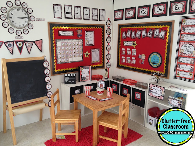 Classroom Decor Supplies ~ Hollywood themed classroom ideas printable