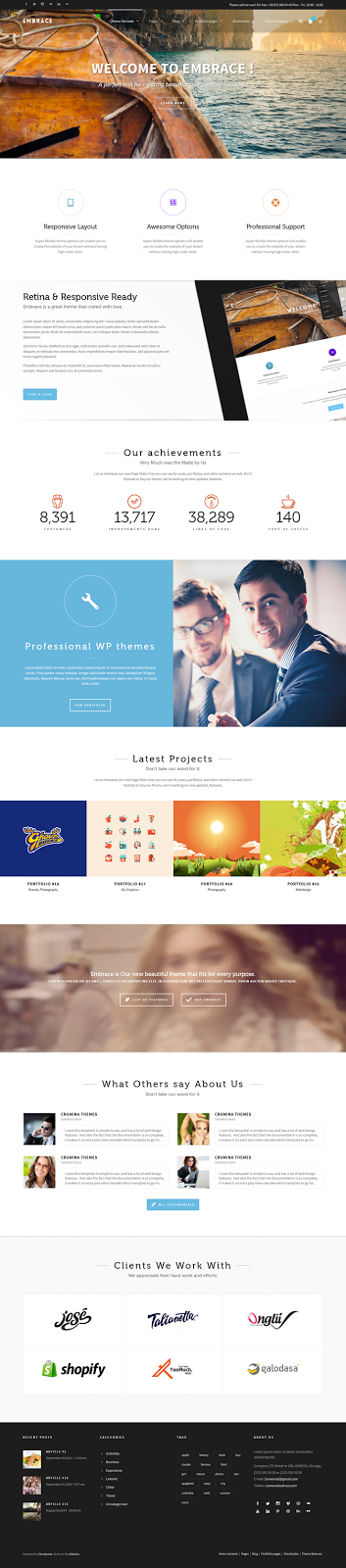 Best Corporate WordPress Theme
