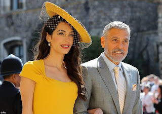 Amal and George lead best dressed celeb guests