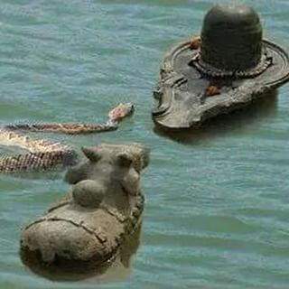 shivling and bull