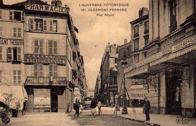 CPA Clermont-Ferrand, rue Neuve.