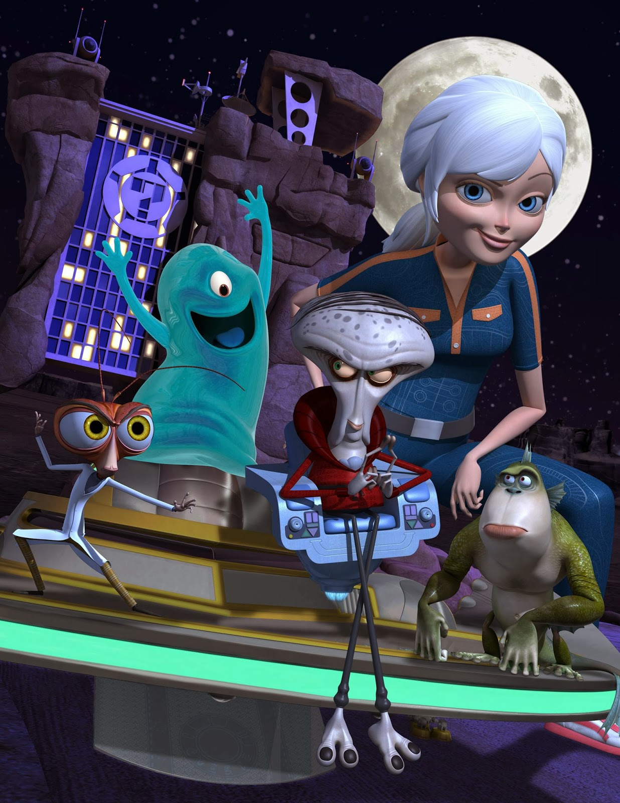Nickalive Nickelodeon Asia To Start To Show Monsters Vs Aliens