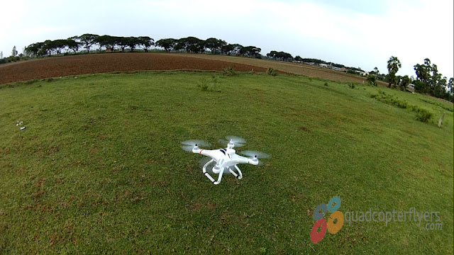 Cheerson Cx-20 Quadcopter landing