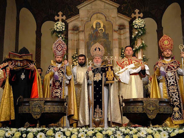 Christmas celebrations in Armenia and Georgia