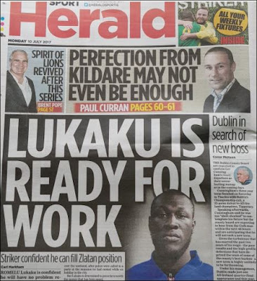 Irish Herald's Lukaku Story That Accidentally Used A Picture Of Stormzy