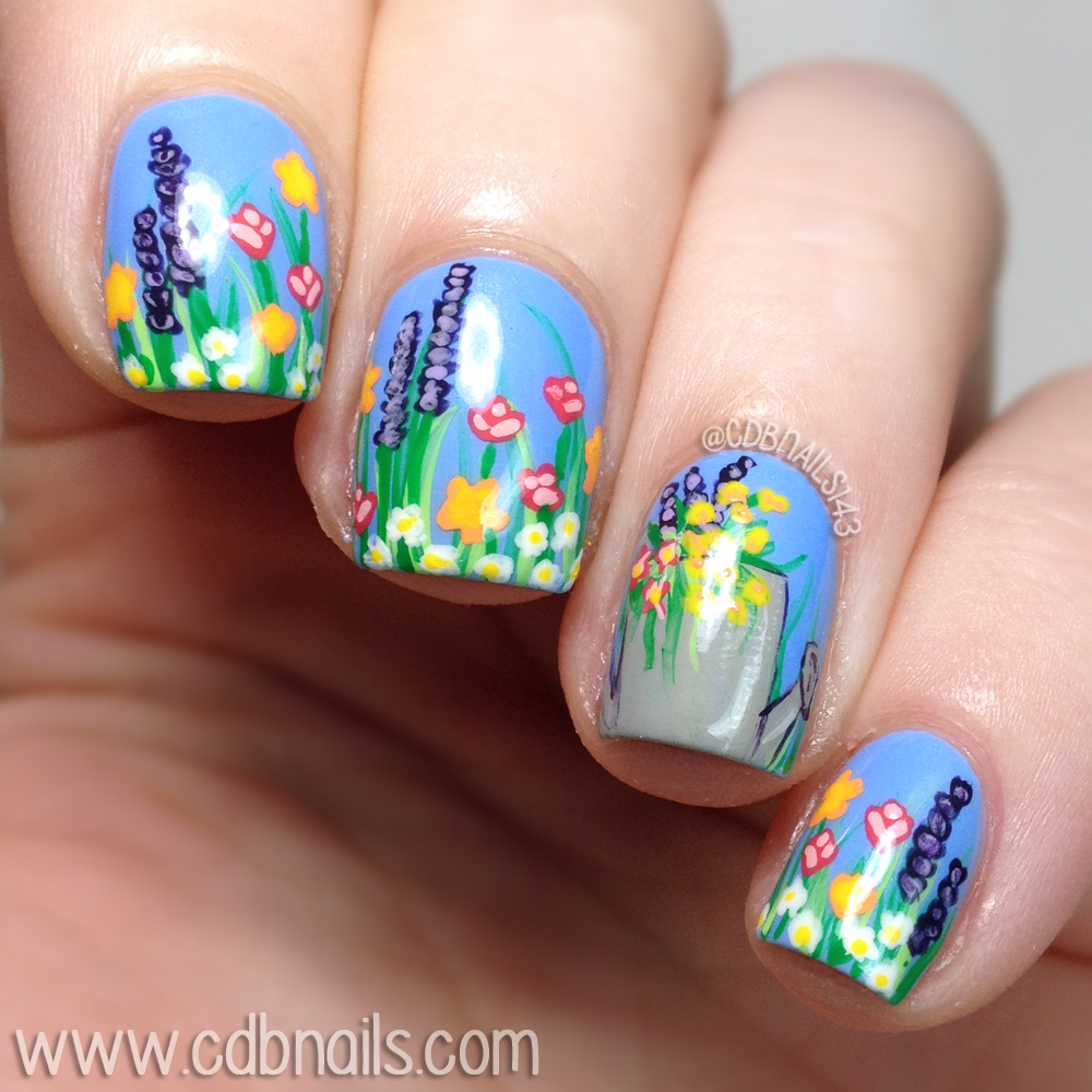 Cdbnails 40 great nail art ideas spring polishes products used prinsesfo Choice Image