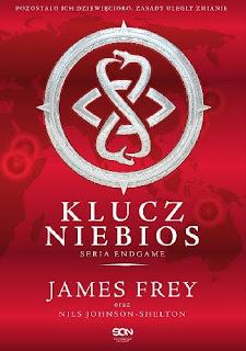 """""""Klucz niebios"""" James Frey, Nils Johanson-Shelton - recenzja"""