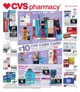 Find CVS Weekly Ad April 22 - 28, 2018