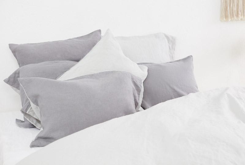 tessile letto in lino