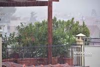 Καταιγίδα στην Αργολίδα δημιούργησε μικρά προβλήματα