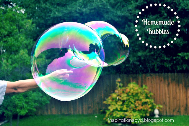 Large Homemade Bubbles
