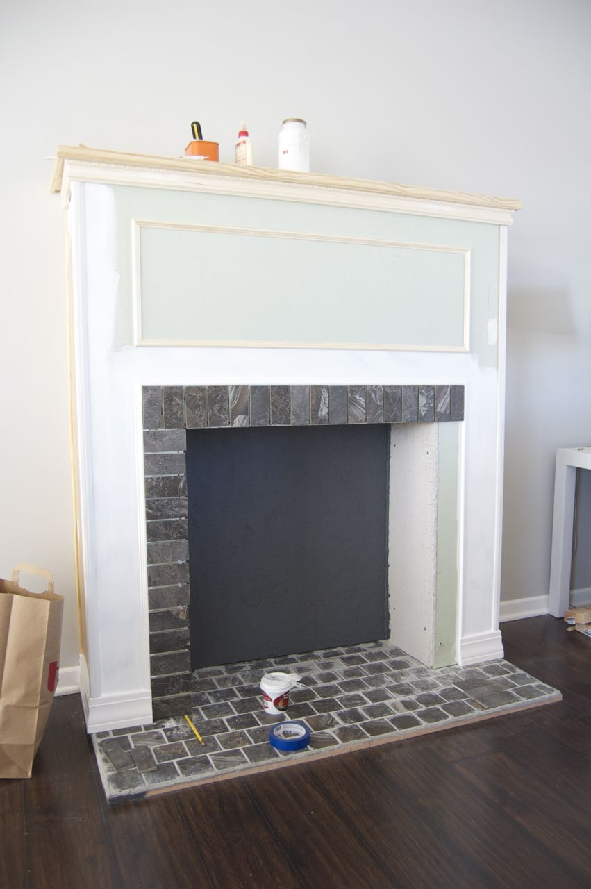 Build A Fireplace How To Build A Faux Fireplace | Matsutake