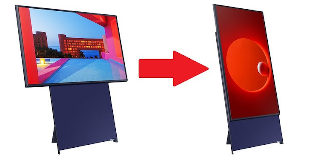 Samsung Launched The Sero - A Vertical TV