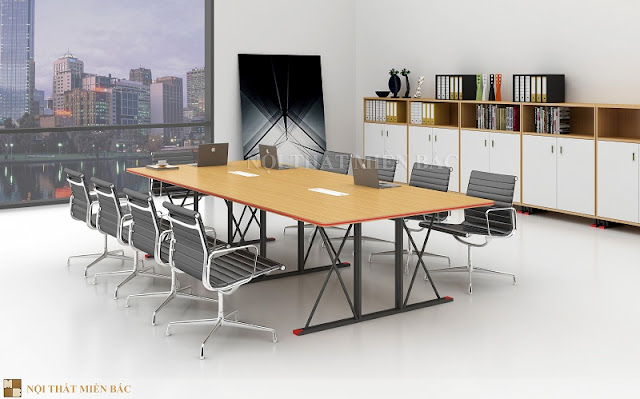 Khi lựa chọn bàn họp nhập khẩu cần có kiểu dáng phù hợp nhất với phong cách tại không gian phòng họp