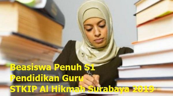 Beasiswa S1 untuk Pendidikan Guru di STKIP Al Hikmah Surabaya