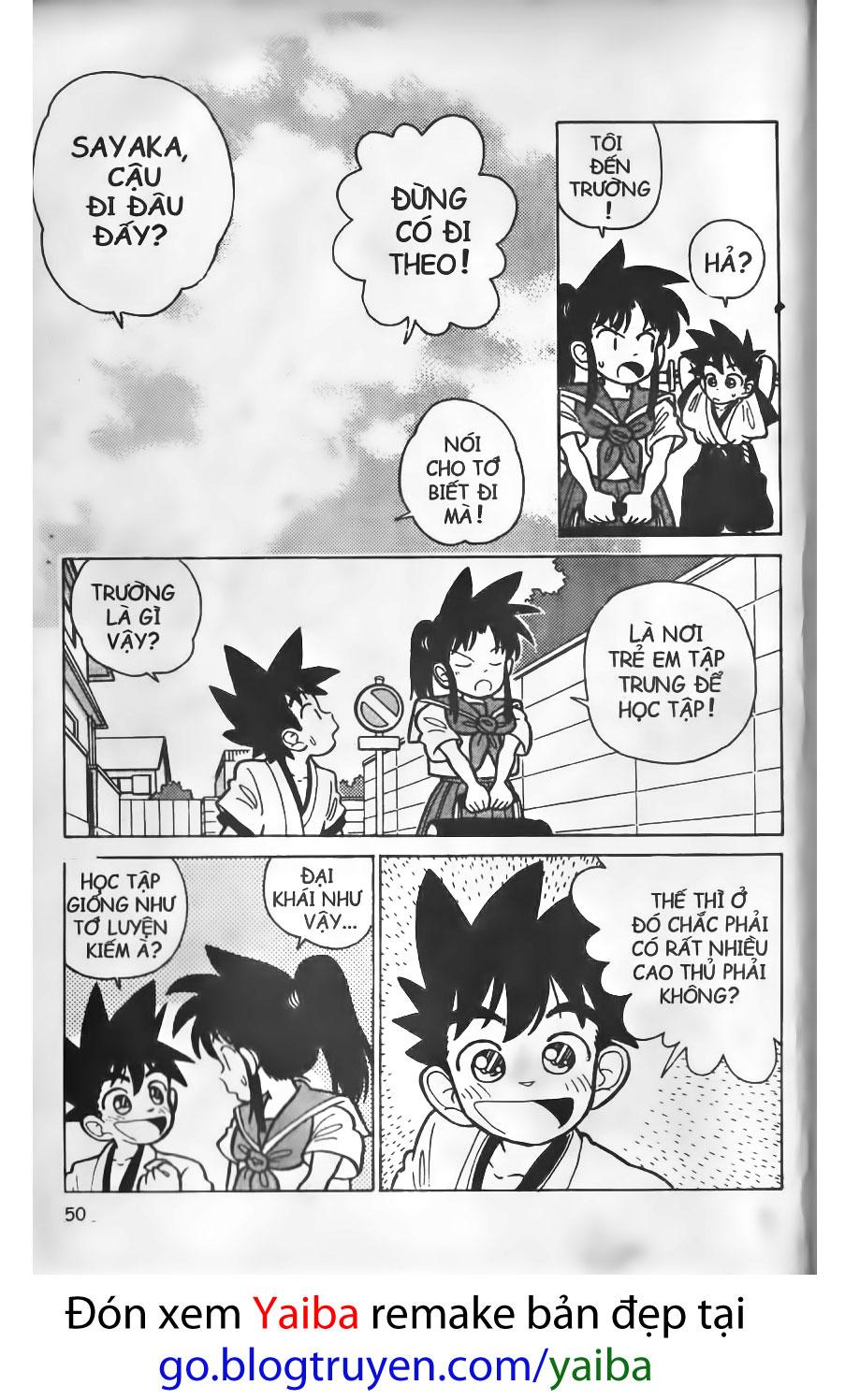 Yaiba chap 3 trang 5