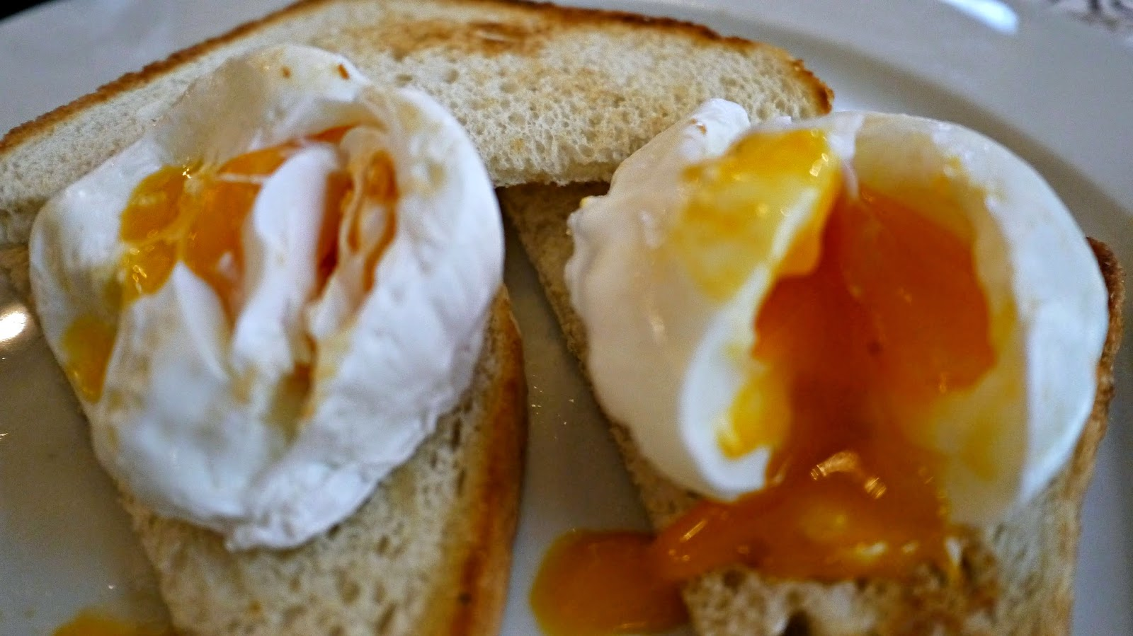 New York Cafe Budapest poached eggs