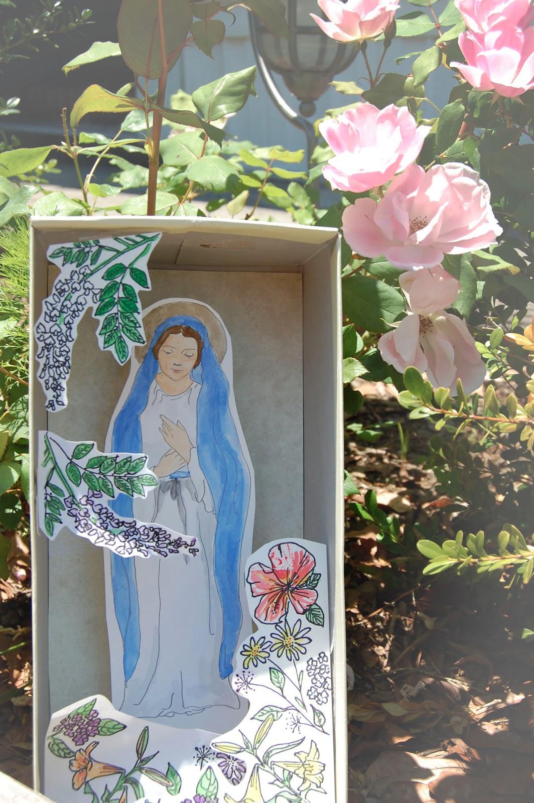Kids Diorama With Details: Catholic Sistas