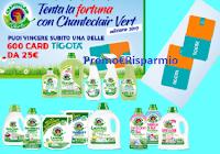 Logo Tenta la fortuna con Chanteclair Vert 2019: vinci 600 card Tigotà da 25€