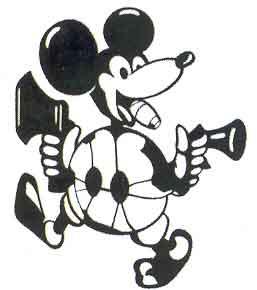El Mickey Mouse, emblema de Adolf Galland