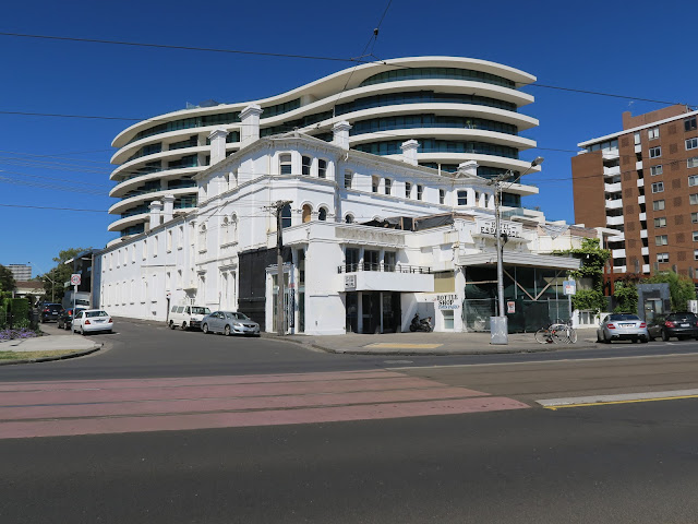 building, St Kilda's beach, Melbourne