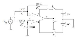 Laporan Praktikum Elektronika Dasar 2 - DASAR-DASAR PENGUAT OPRASIONAL