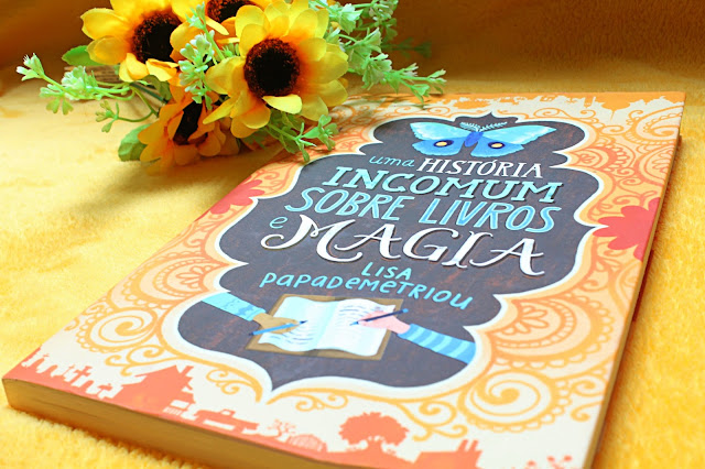 Frases do livro: Uma história incomum sobre livros e magia